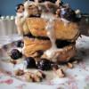 Amaretto Creme Vegan French Toast
