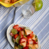 Sweet Cherry Mint Fruit Salad