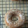 Vegan Maple Doughnuts with Maple Glaze and Sea Salt