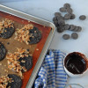 Toasted Coconut and Espresso Vegan Chocolate Cookies