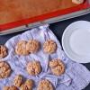 Crispy Peanut Butter Vegan Oatmeal Cookies