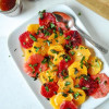 Basil Citrus Salad with Balsamic Jam Dressing