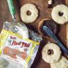 Vegan Linzer Cookies with Nutella