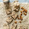 Chocolate Almond Vegan Granola Bars