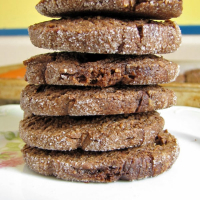 Chocolate Peanut Butter Baileys Vegan Icebox Cookies