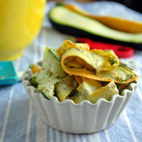 Summer Squash and Zucchini Pesto Salad