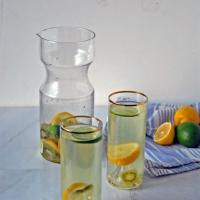 Vanilla Sugar + Lime Lemonade