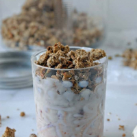 Toasted Pistachio and Almond Pulp Granola