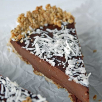 Chilled Chocolate Espresso Torte with Toasted Hazelnut Crust {+Oh She Glows Cookbook Giveaway!}(Closed)