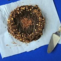 Double Chocolate Vegan Brownie Cake