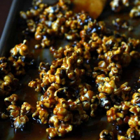 Maple Syrup Caramel Corn (without the corn syrup!)
