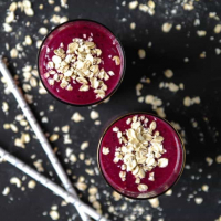 Toasted Oat and Blueberry Smoothie
