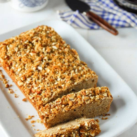 Brown Sugar Almond Streusel Bread