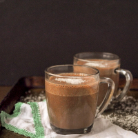 Coconutty Vegan Hot Chocolate