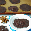 Mexican Chocolate Vegan Brownie Cookies