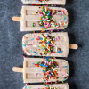 Funfetti Sugar Cookie Popsicles
