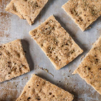 Rosemary Black Pepper Focaccia