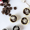 Dark Chocolate Coconut Macaroon Cups