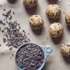 Peanut Butter Cacao Nib Oat Bites