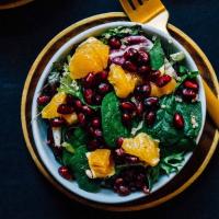 Winter Quinoa Citrus Salad with Creamy Lemon Tahini Dressing