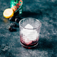 Sweet Blackberry Lemon Spritzer