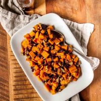 Sweet Potato Salad with Mustard Balsamic Dressing