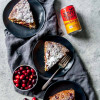 Vegan Cranberry Ginger Cake