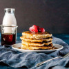 Oatmeal Gluten-Free Pancakes