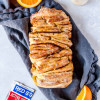 Vegan Orange Cinnamon Pull Apart Bread
