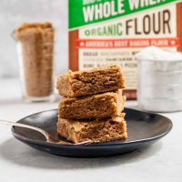 Whole Wheat Vegan Blondies
