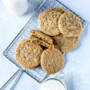Soft Vegan Ginger Cookies