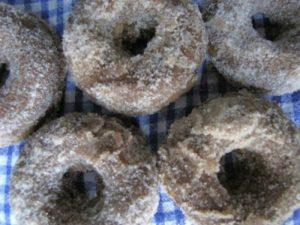 Cinnamon Sugar Vegan Pumpkin Spice Donuts