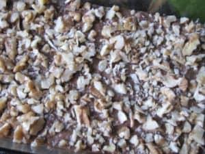 Walnut Topped Chocolate Vegan Banana Bread