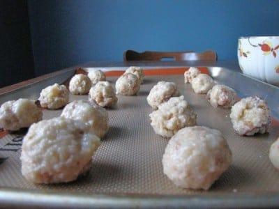 Lemon Pound Cake Balls
