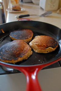 Cornmeal Griddle Cakes (Vegan)