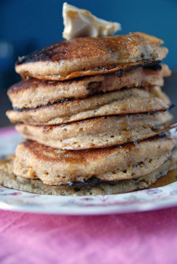 Cornmeal Griddle Cakes (Vegan)