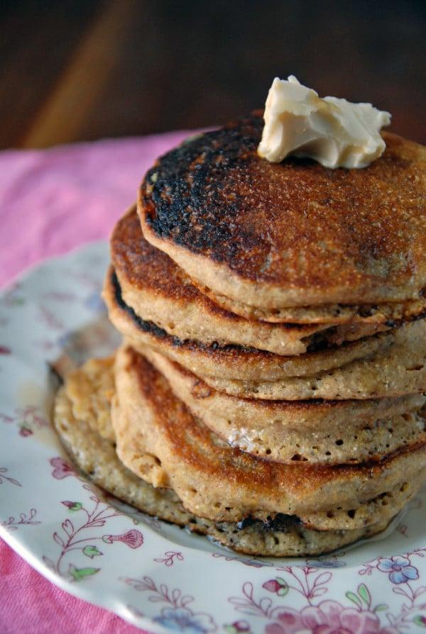 Breakfast corn griddle cakes recipe