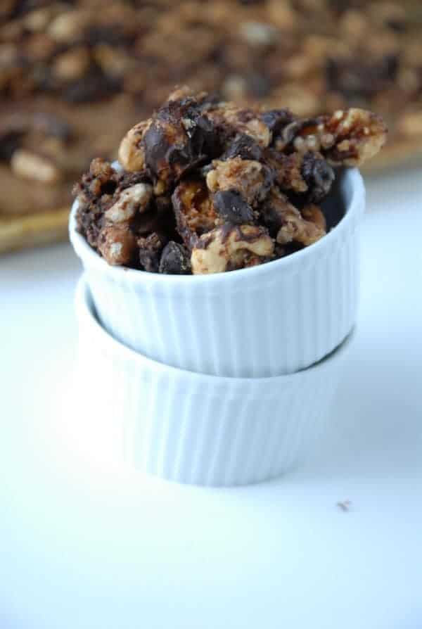 Fruit + Nut Chocolate Peanut Butter Trail Mix