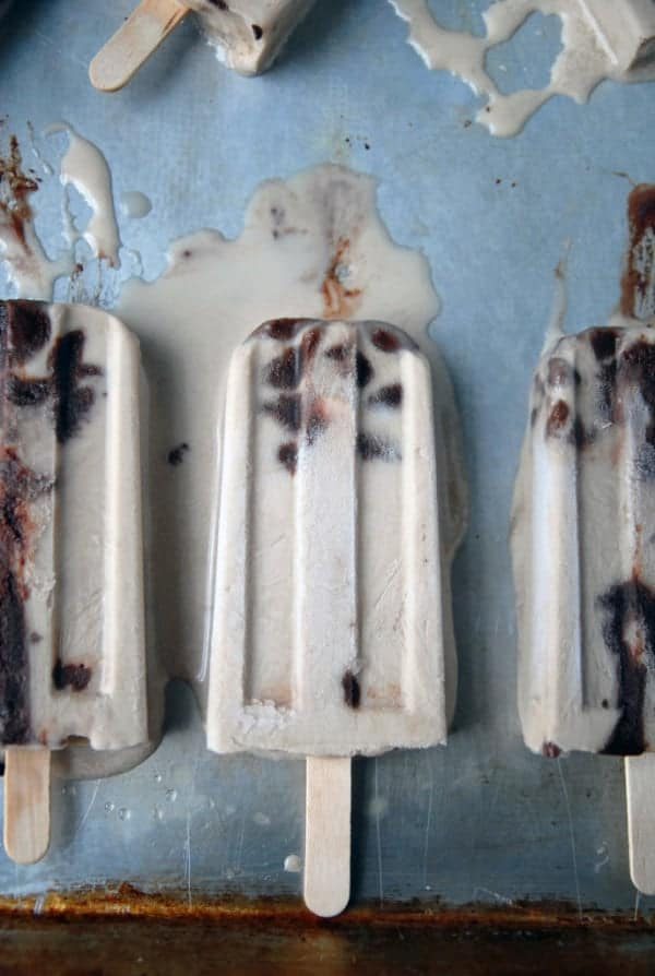 Irish Cream Fudgesicles