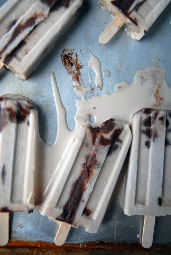 Irish Cream Fudgesicles //heartofabaker.com