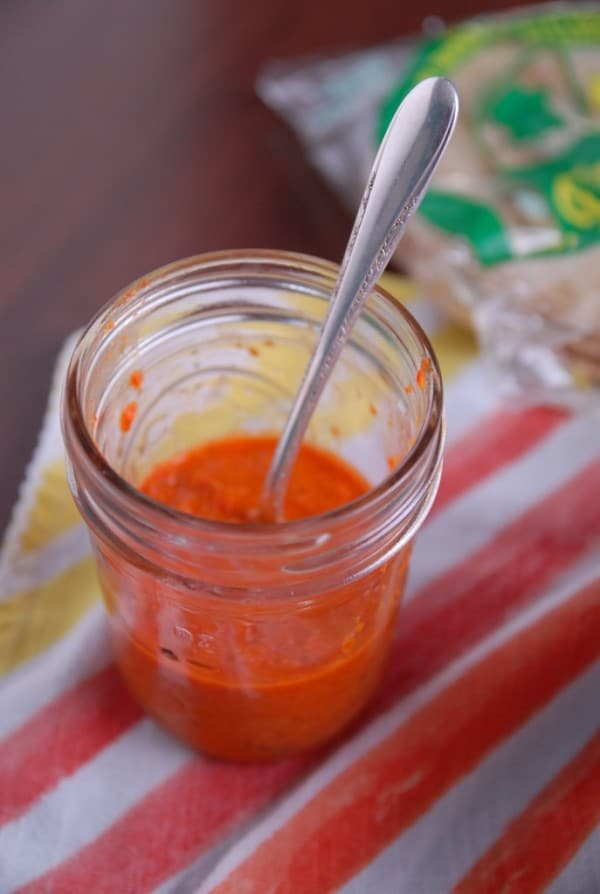 Jalapeno Roasted Red Pepper Salsa + Vegan Zucchini Tacos