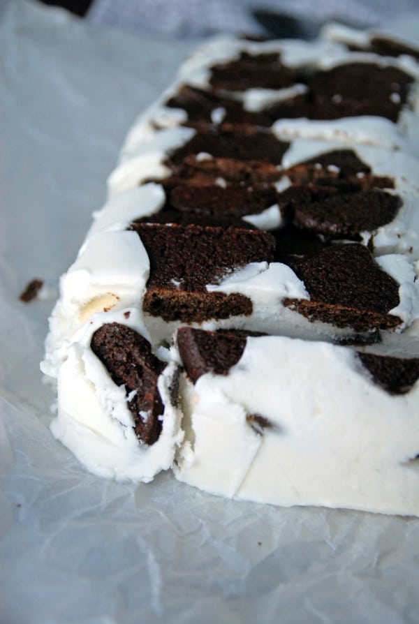 Vegan Icebox Cake with Homemade Chocolate Wafers