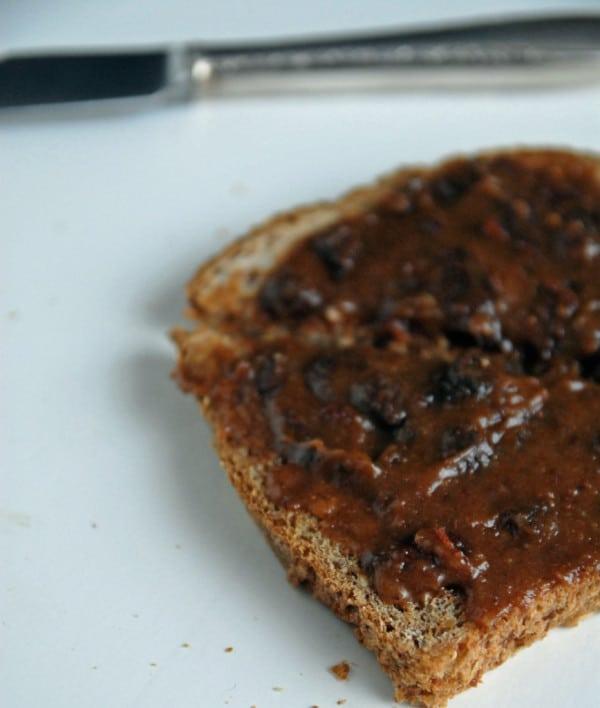 Cinnamon Raisin Almond Butter