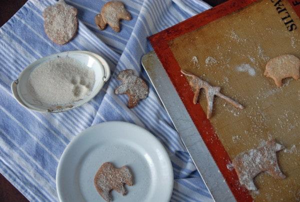 making simple sugar cookies