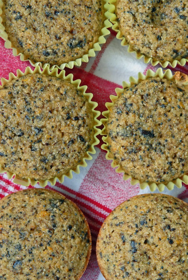 Mandarin Orange Dark Chocolate + Poppy Seed Muffins
