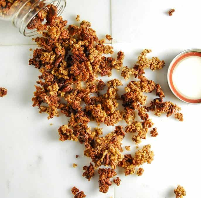 Toasted Millet and Pecan Granola (Gluten-Free)