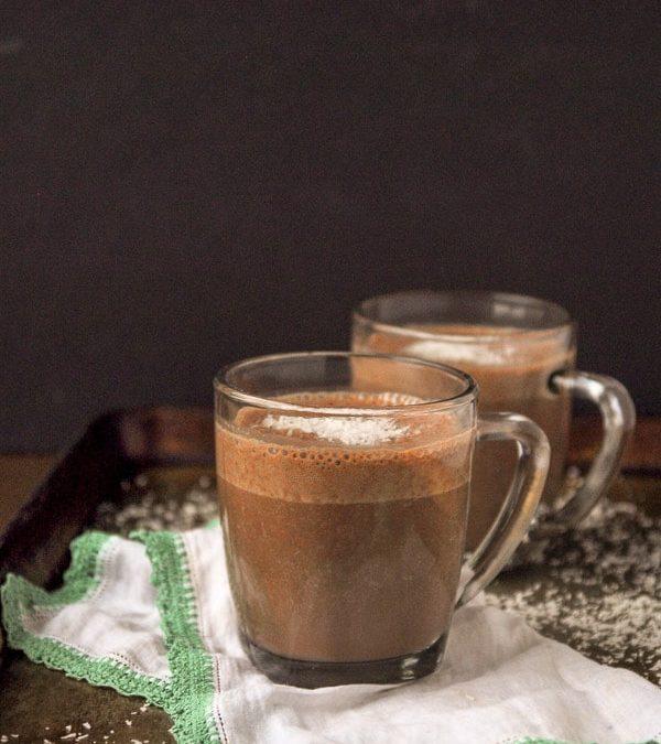 Coconutty Vegan Hot Chocolate