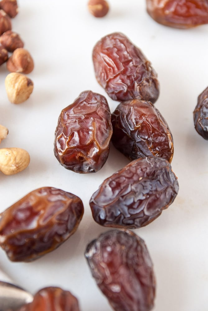 dates on countertop