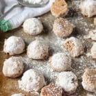 Vegan Russian Tea Cakes --heartofabaker.com