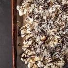 Almond Joy Popcorn// heartofabaker.com